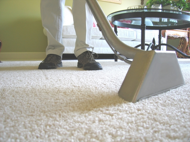 Carpet steam cleaning, dry cleaning and encapsulation.